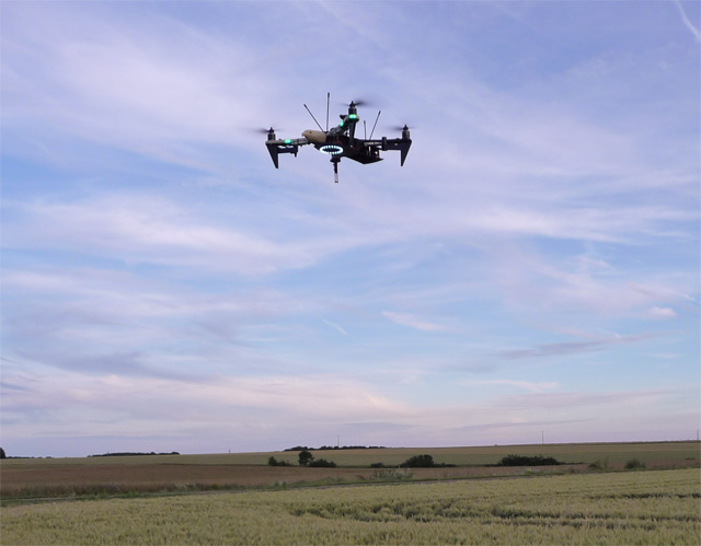 Drone d'effarouchage