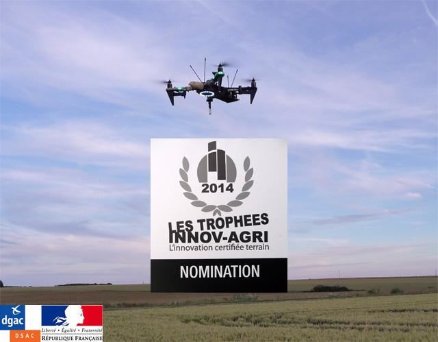 drone agricole innovagri homologue dgac