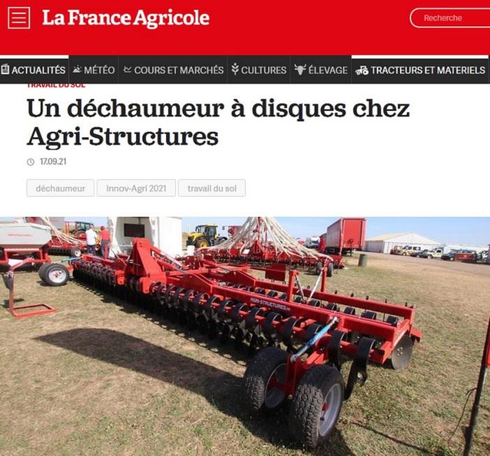 Article La France Agricole